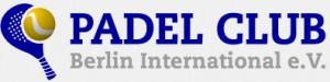 Logo Padel Club Berlin International - Deutscher Padel Verband