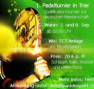 Padel Trier - Deutscher Padel Verband e.V.