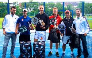 Robin Breburda (padel colonia), Ruben Puertas Lorente (ESP), Marcel Boogart (NED), Søren Ørding (DEN), Mauricio Muñoz Martin (ARG), Michael Tritschler (padel colonia)