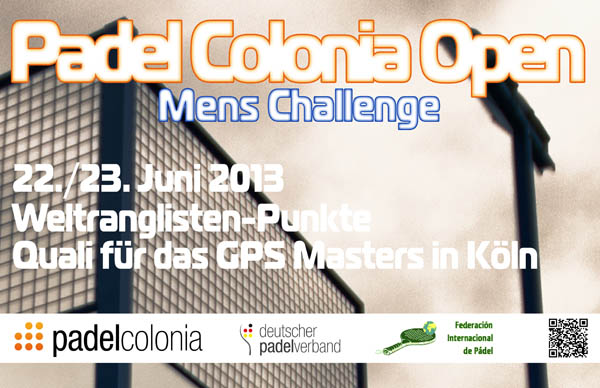 Padel Colonia Open 2013 - Deutscher Padel verband e.V.