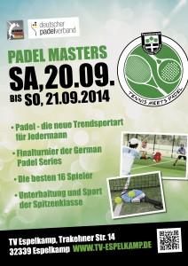 Plakat-Padel-Masters