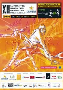 Poster der XII. Padel-Weltmeisterschaft