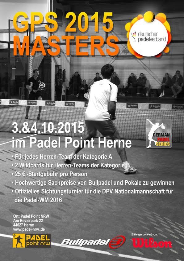 Masters 2015 Herne